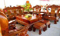Bộ bàn ghế kỳ lân tiền tỷ chỉ dành cho đại gia