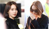 2 nữ thần tóc ngắn Yoon Ah, Krystal nhận phản ứng trái chiều ở sân bay