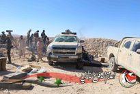 Quân đội Syria vây cứ địa IS, khủng bố bắt 10.000 dân làm con tin