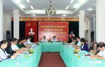 Quảng Trị: Đoàn ĐBQH tỉnh làm việc với lãnh đạo tỉnh trước kỳ họp thứ 4, khóa XIV
