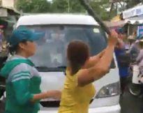 Người bán cá phản ứng quyết liệt đội quy tắc phường đậu xe cản trở giao thông