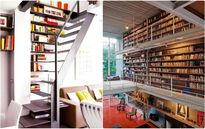 Ý tưởng lưu trữ sách ít ai ngờ tới cho nhà gọn đẹp và sang trọng