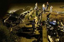 Bị 'sờ gáy', xe biển giả quay đầu bỏ trốn gây tai nạn