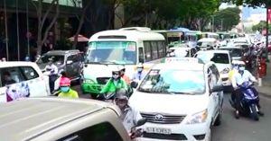 Đề xuất ôtô vào trung tâm TP.HCM phải đóng phí từ 40.000 đồng