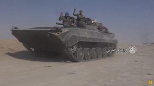 Quân Syria nghiền nát IS, chiếm 2 thị trấn phiến quân ở đông Euphrates (video)