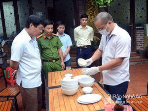 Điểm danh 6 nhà hàng bị phạt vi phạm vệ sinh an toàn thực phẩm tại Nghệ An