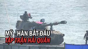 Mỹ - Hàn Quốc tiến hành tập trận Hải quân chung