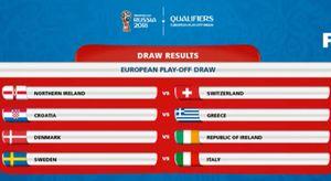 Ý gặp Thụy Điển ở trận play-off vòng loại World Cup khu vực châu Âu