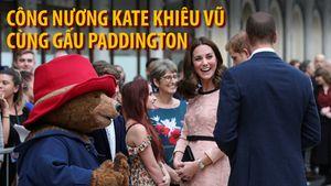 Công nương Kate khiêu vũ với gấu Paddington