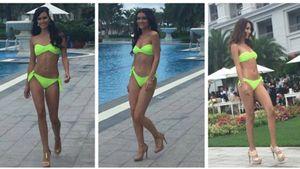 Dàn Hoa hậu hoà bình Thế giới nóng bỏng với bikini