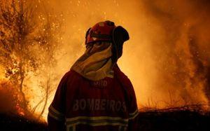 Siêu bão Ophelia 'thổi' lửa gây cháy rừng dữ dội ở bán đảo Iberia
