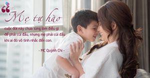 Quỳnh Chi: 'Con là cái muỗng đã múc mẹ lên khi mẹ cô độc và lạc lõng nhất'