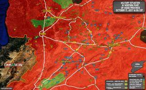 Quân đội Syria đập tan IS, kiểm soát hoàn toàn sa mạc đông Hama, Homs