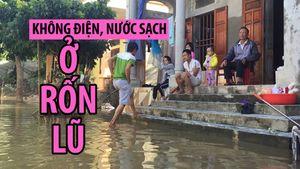 Khốn khổ cuộc sống không điện, nước sạch vùng rốn lũ Ninh Bình
