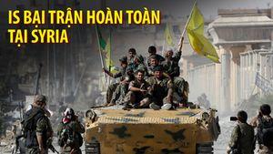 IS bị quét sạch khỏi căn cứ địa Raqqa