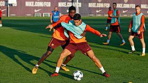 Barcelona nghiêm túc luyện tập chờ đón Olympiacos