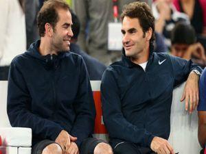 Federer 'siêu vĩ đại' ở tuổi 36: Nhờ huyền thoại Sampras dẫn lối