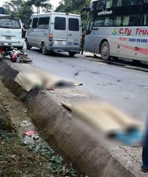 2 phụ nữ chết thảm dưới gầm xe khách trước ngày 20/10
