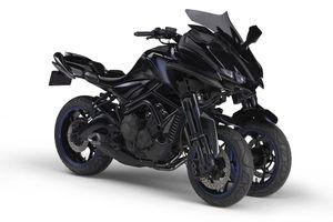 Sắp ra mắt Yamaha MWT-9 hứa hẹn đột phá làng mô tô 3 bánh
