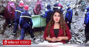 Hoàn tất tìm kiếm thi thể trong vụ sạt lở đất tại Hòa Bình