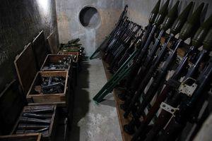 Vào hầm bí mật cất giấu gần 2 tấn vũ khí của Biệt động Sài Gòn