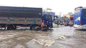 Có máy bơm vòng xoay An Lạc vẫn ngập cả mét khi mưa lớn, vì sao?