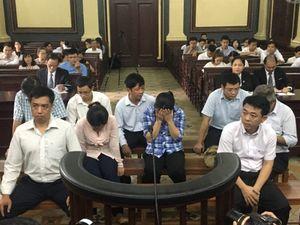 Các bị cáo tại phiên phúc thẩm vụ án VN Pharma