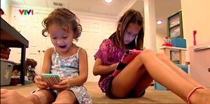 Trẻ em Mỹ 'nghiện' thiết bị truyền thông