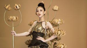 Hà Thu hóa thân thành 'Chiến Binh Hoa' tại Hoa hậu Trái đất 2017