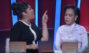 Hồng Vân mắng Việt Hương: 'Mày là con hai mặt'