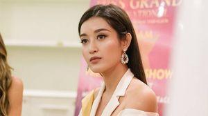 Huyền My tự tin nói tiếng Anh lưu loát khi phỏng vấn với Ban giám khảo Miss Grand International 2017