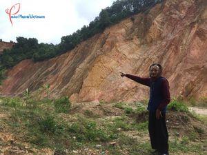 Người dân kêu trời khi hay tin mỏ đất ở Hà Trung sắp khai thác lại