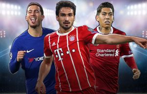 Đội hình hay nhất lượt trận thứ 3 cúp châu Âu