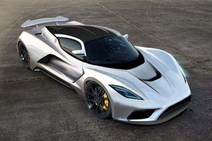 Siêu xe Hennessey Venom F5 với tốc độ khủng ra mắt tại SEMA