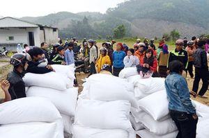 Cấp 72 tấn gạo cứu đói cho Sơn La