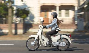 Xe máy Honda Super Cub mới giá từ 46,8 triệu đồng