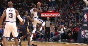 Bị rơi giày, Kevin Durant vẫn khiến Tony Allen khóc thét