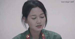 Khả Ngân, Nhung Gumiho bật khóc khi viết thư gửi gia đình trong Sao nhập ngũ