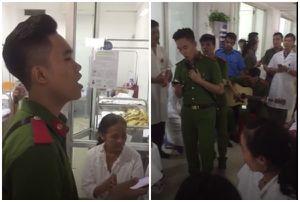 Sinh viên HV cảnh sát hát ở bệnh viện phụ sản khiến 500 sản phụ khóc nức nở