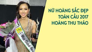 Hoàng Thu Thảo đăng quang Nữ hoàng sắc đẹp toàn cầu