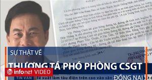 Phó Phòng CSGT Đồng Nai từng bị cho ra khỏi lực lượng CSGT