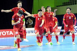 Highlights futsal Việt Nam thắng kịch tính Trung Quốc 4-3