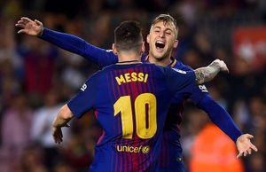 CĐV dậy sóng vì bàn thắng 'ma' giúp Barcelona mở tỷ số