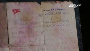 Hé lộ bức thư của hành khách Titanic trước ngày thảm họa