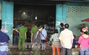 Bình Dương: Điều tra nguyên nhân cháy ki-ốt khiến 4 người thương vong