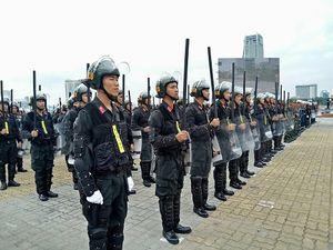 Chùm ảnh: Tổng diễn tập phương án bảo vệ APEC 2017