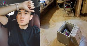 Dương Triệu Vũ bị trộm đột nhập nhà tại Mỹ phá két sắt trộm hết tiền
