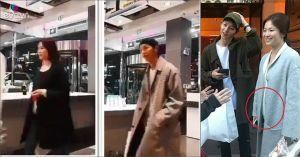 Giữa tin đồn có bầu trước khi cưới, Song Hye Kyo lộ mặt tròn xoe, thân hình mũm mĩm
