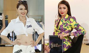 Ngọc Nữ bị Á hậu Lệ Hằng chê thiếu trung thực khi thi Hoa hậu Hoàn vũ