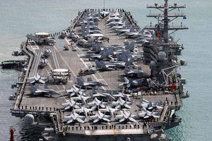 Tàu sân bay Mỹ cập cảng Hàn Quốc hậu tập trận quy mô lớn